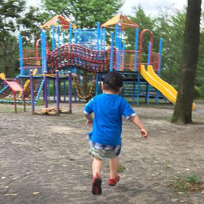 息子と公園へ!