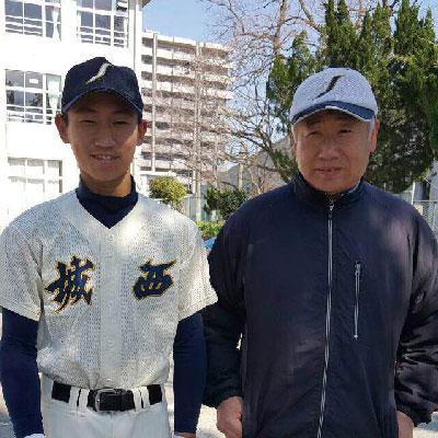 息子の野球の応援