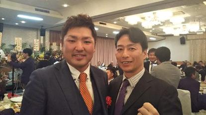 出水田大二郎プロ初優勝祝賀会