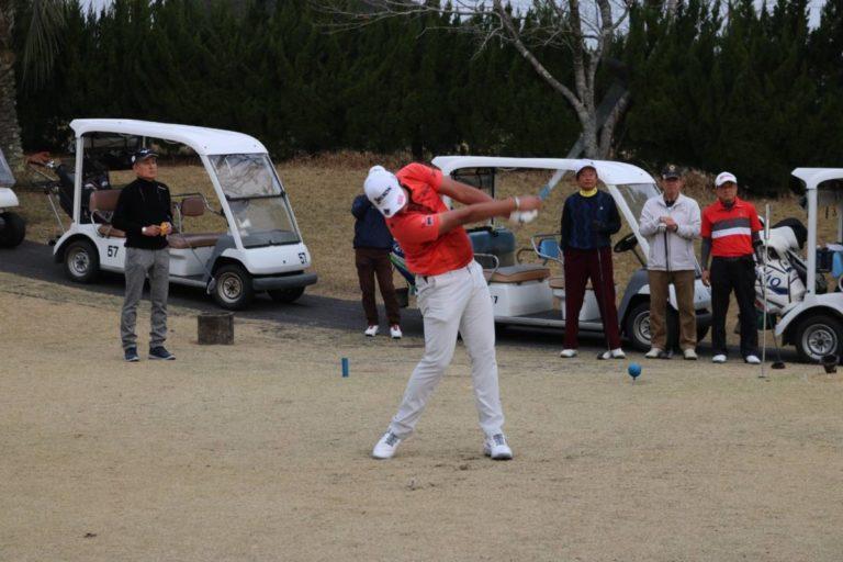 リックが応援しているゴルフの出水田大二郎プロ